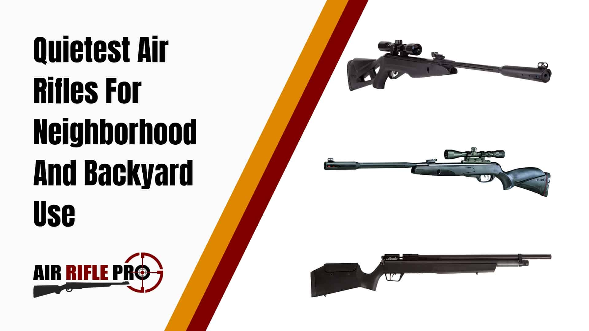 Quietest Air Rifles For Neighborhood and Backyard Use