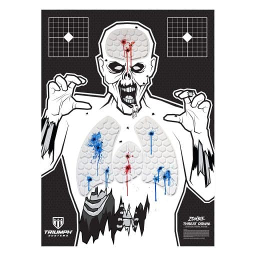 Triumph Systems - Threat Down Bleeding Splatter Shooting Targets