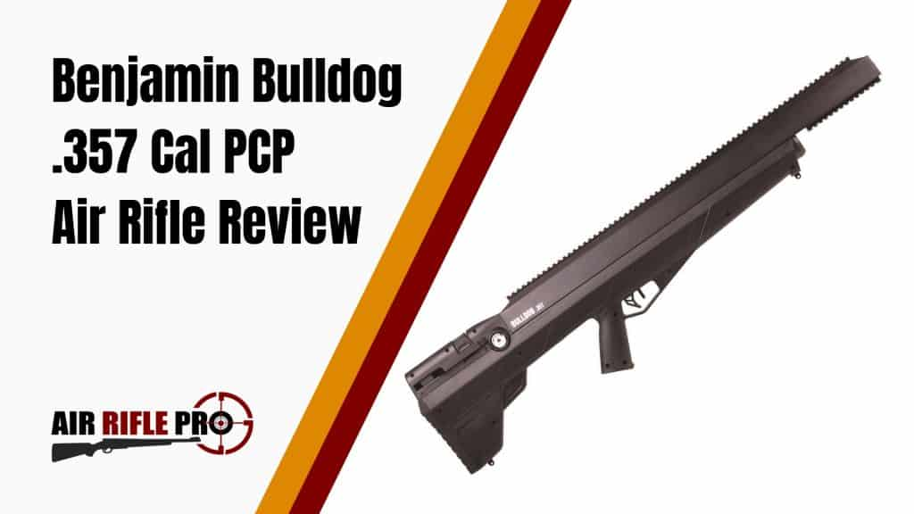 Benjamin Bulldog 357 Cal PCP Air Rifle Review